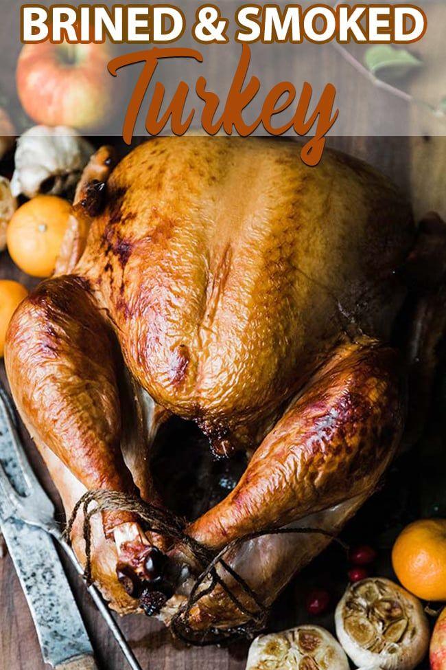 Brined Smoked Turkey Recipe