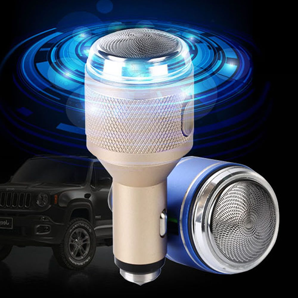 Car charger shaver safety hammer 3 in 1 multifunctional