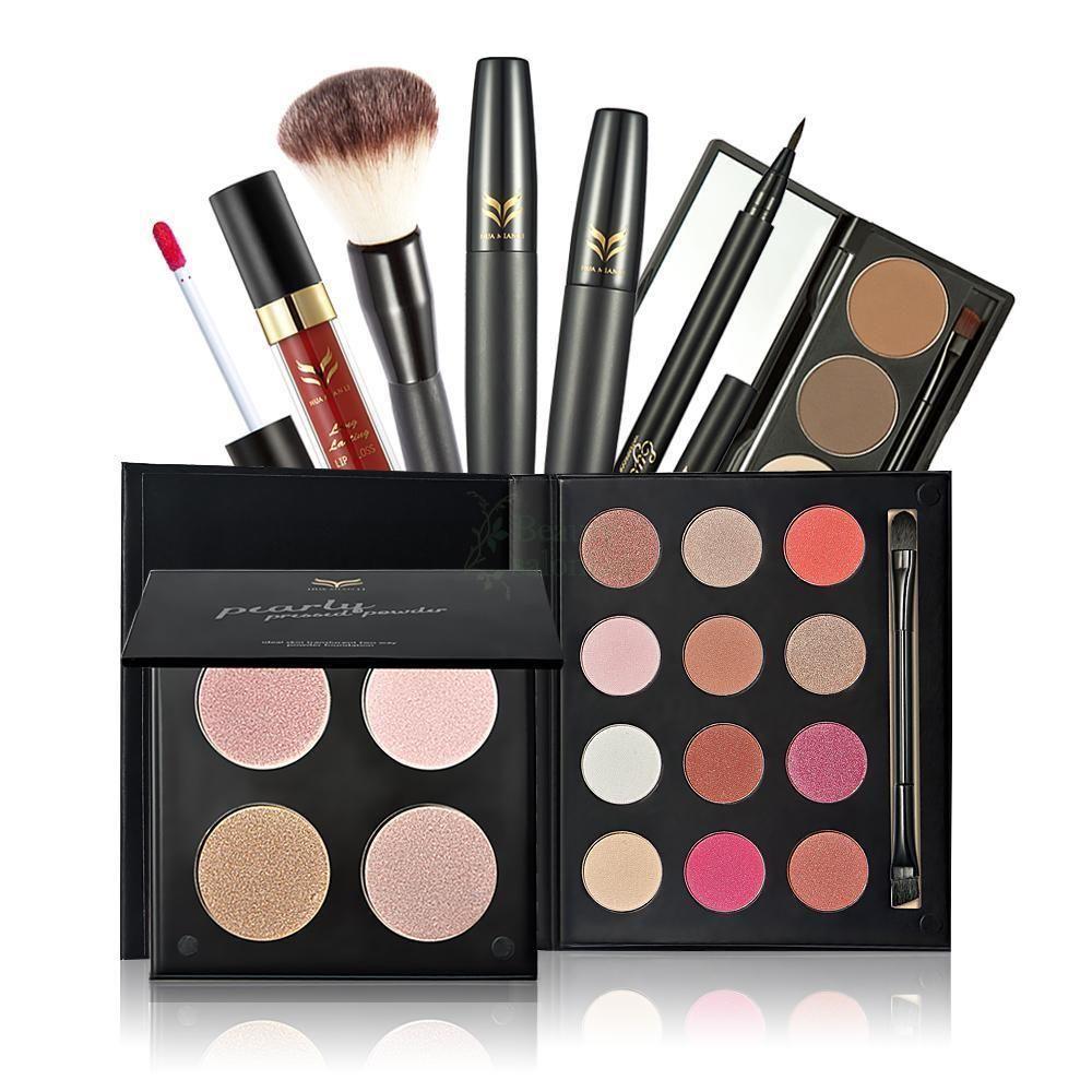 Makeup Highlighter Lipstick Eyeliner Mascara Eyebrow