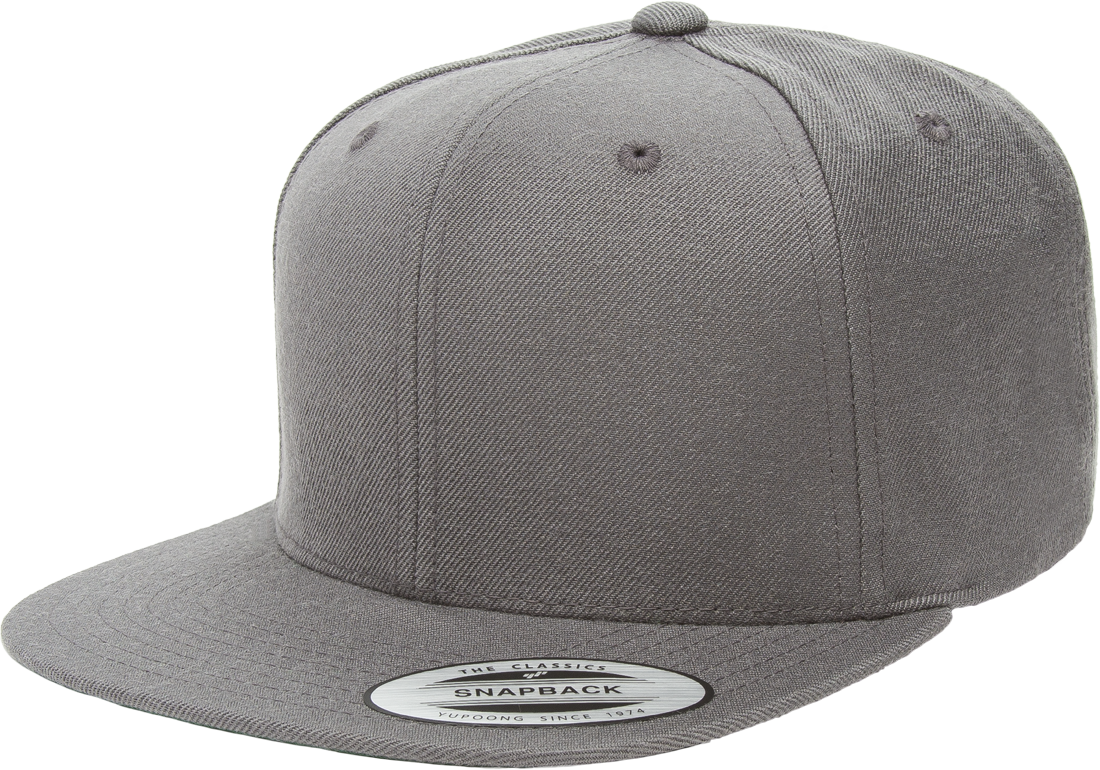 Grab this Flexfit 6089M Grey Premium Classic Snapback Hat! Go get it now  only at 9314a463b9f0
