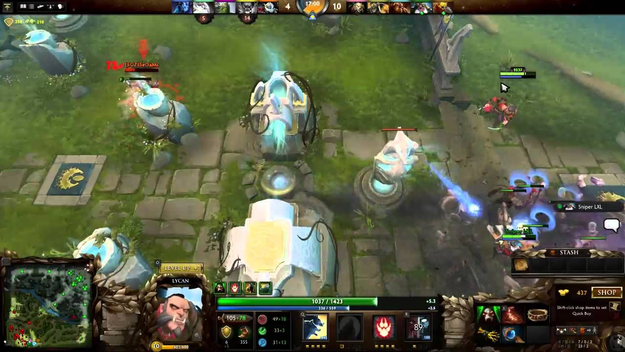 Dota 2 a Free Multiplayer battle game on steam. Mess with