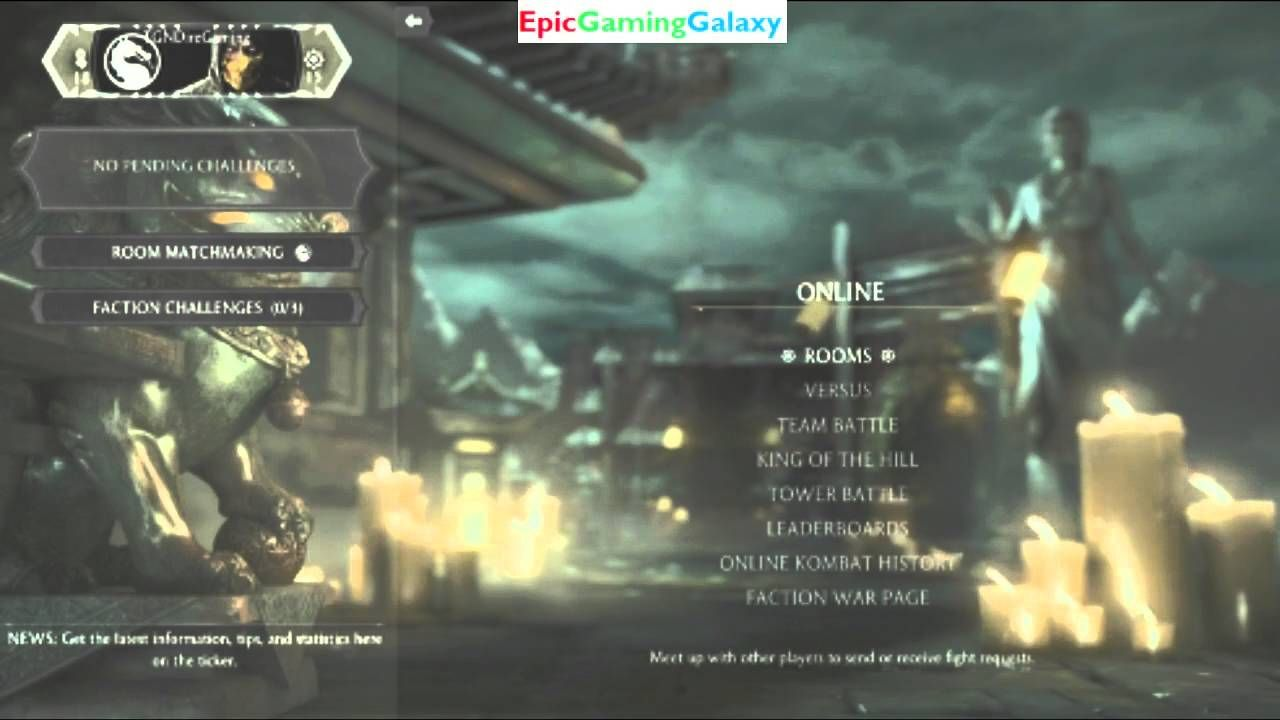 Tutorial for how to view an xbox live chat room in mortal kombat x