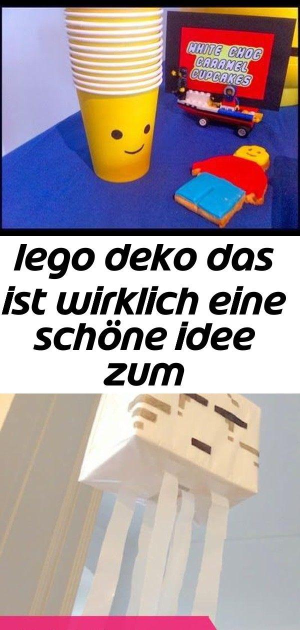 Photo of Lego deko das ist wirklich eine schöne idee zum kindergeburtstag.vielen dank dafür! dein blog.ball 8