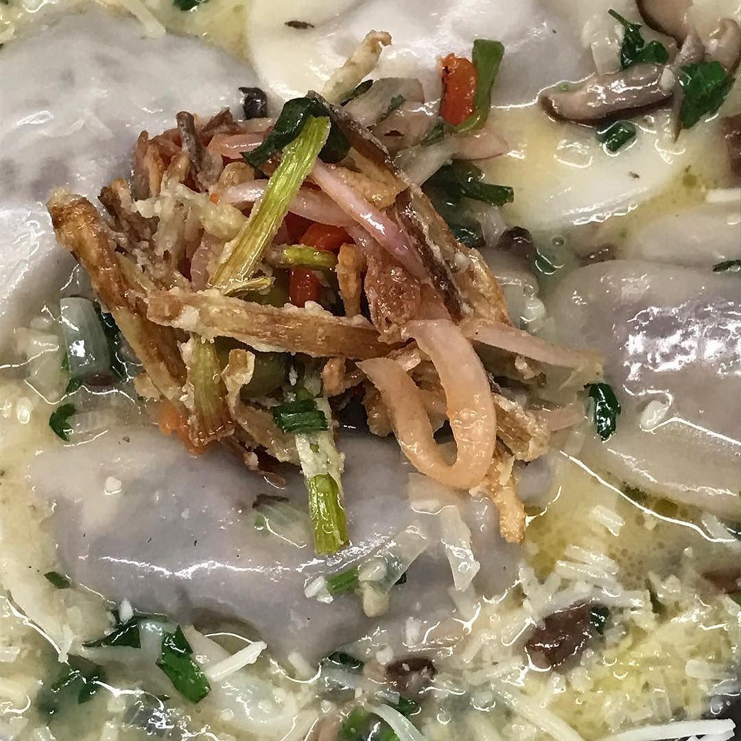 Foie Gras Ravioli.  #foiegras #food #foodporn #yum #instafood  #yummy #amazing #instagood #parkslope #sweet #dinner #onehungryjew #foodrepublic #fresh #tasty #foodie #delish #delicious #eating #foodpic #foodpics #eat #hungry #foodgasm #hot #foods #eater