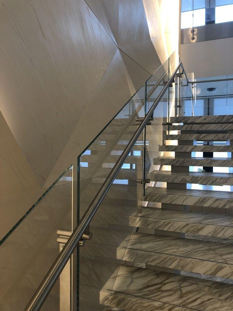 Kubit Glass Railing At Market Axess NYC