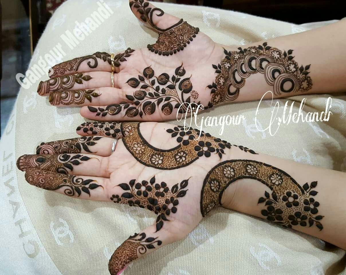 13 Unique Henna Designs Doing The Rounds This Wessing: Pin By Arpitha Nakhir On Mehandi