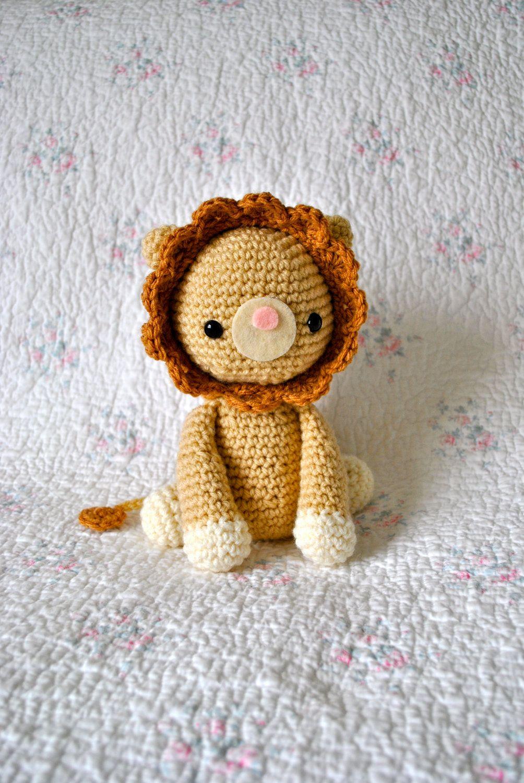 Amigurumi PDF Pattern Roy the Lion. $4.00, via Etsy. | Amigurumi ...