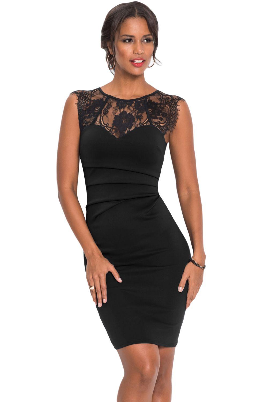 BODYCON EVENING DRESS PLUS SIZE LADIES BLACK PINK BLUE FLORAL LACE 14 16 18 20