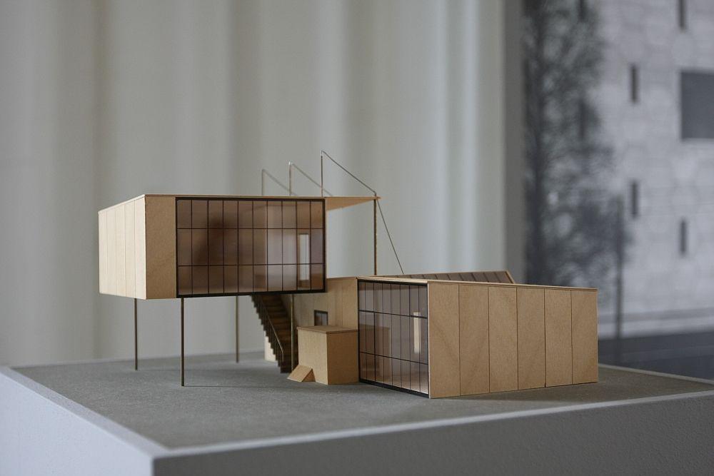 marcel breuer design and architecture bauhaus dessau bambos house type 1 modellbau pinterest. Black Bedroom Furniture Sets. Home Design Ideas