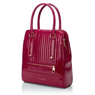 Ted Baker: Gloss PU Bramley Bag. Protecting your MacBook or iPad