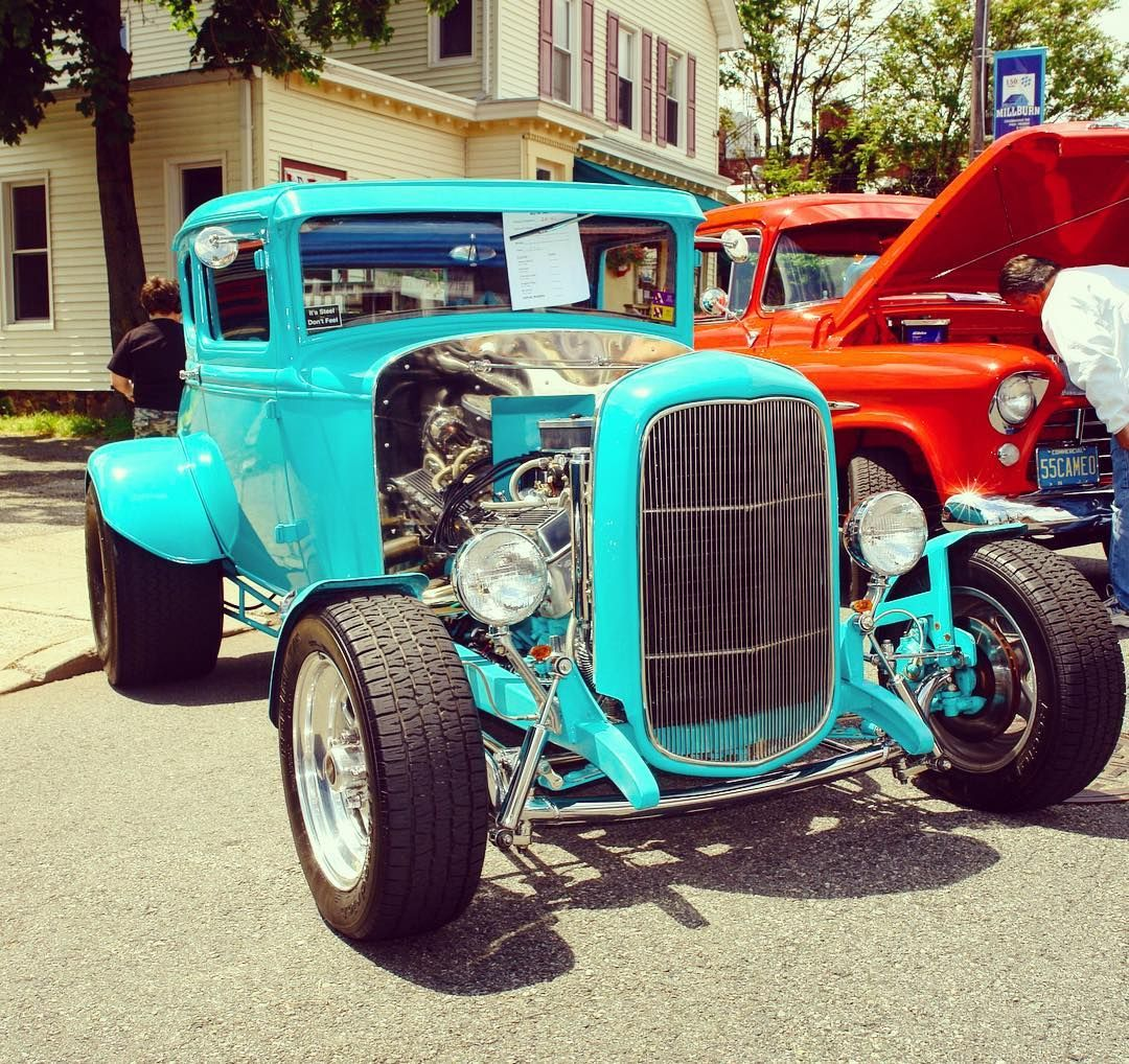 Now This Turquoise Hot Rod Is Sweet Custom Classic Style
