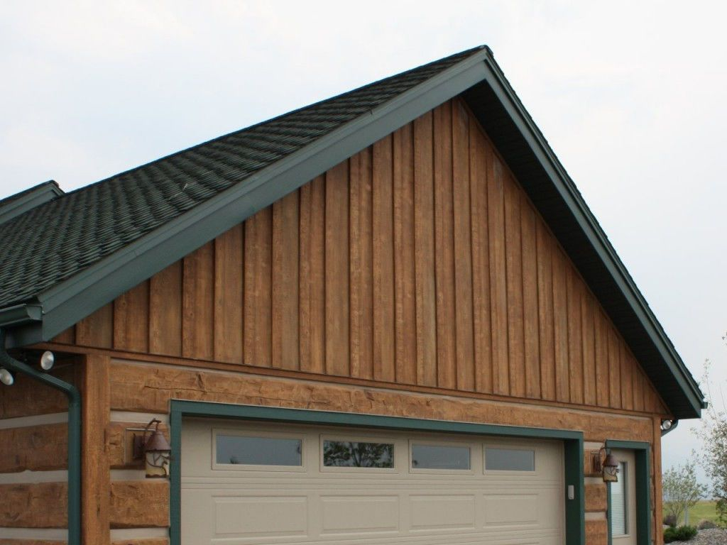 Everlog Concrete Board Batten Siding Golden Board And Batten Siding Log Siding Siding Cost