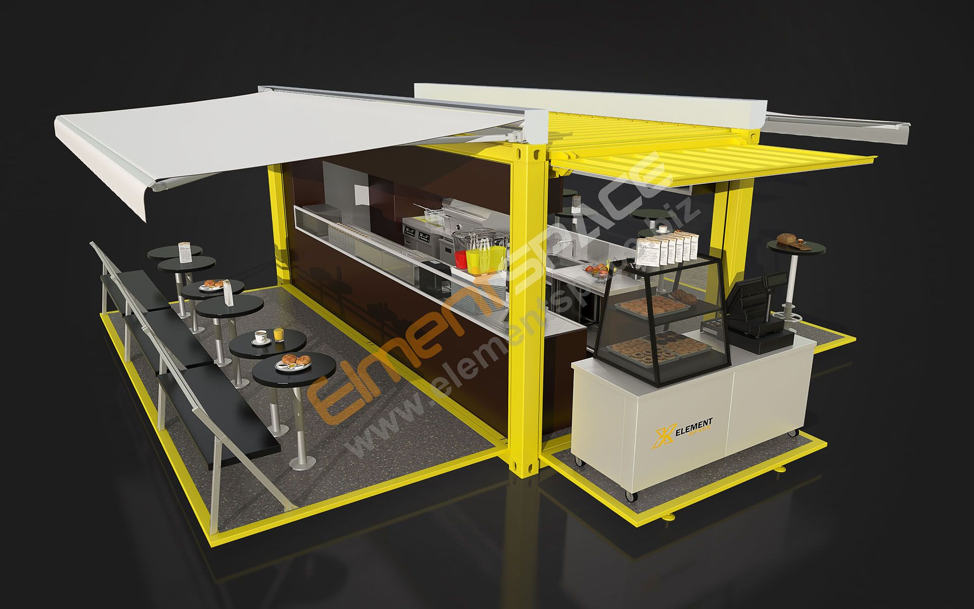 Interested in a popup container restaurant, kitchen or