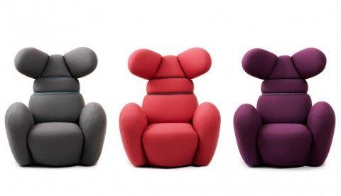 Bunny Chair by Normann Copenhagen Arhitektura Pinterest - Designer Fernsehsessel Von Beliebtem Kuscheltier Inspiriert