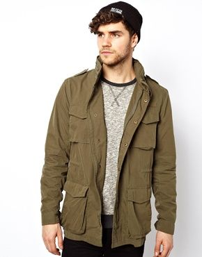 New Look Khaki Parka Jacket