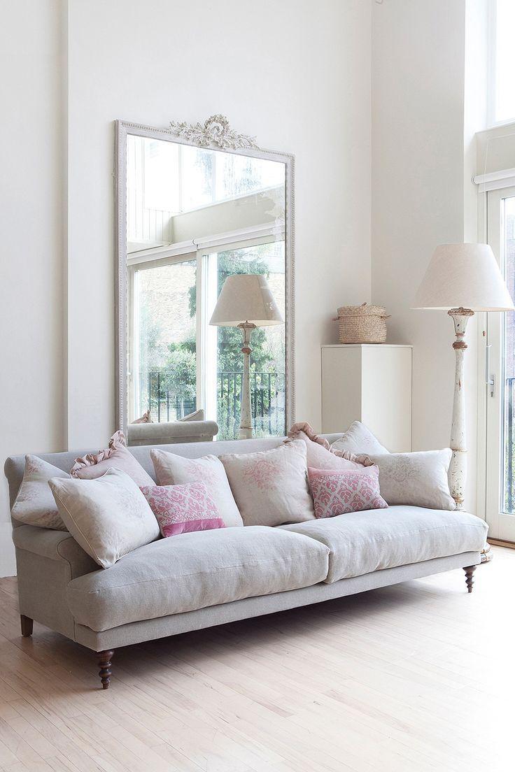 Reflected Glory | Huge mirror, Large sofa and Minimalist