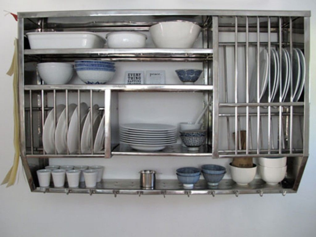 Kitchen Metal Shelves Design Ideas Pictures Inspiration And Decor Stainless Steel Kitchen Shelves Kitchen Shelving Units Kitchen Storage Shelves