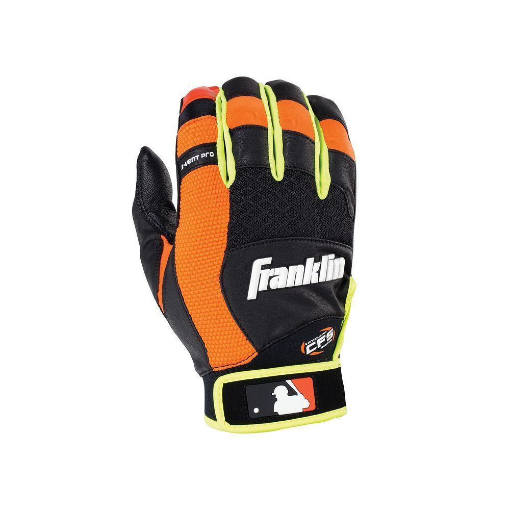 Franklin Sports Adult X Vent Pro Batting Glove Batting Gloves