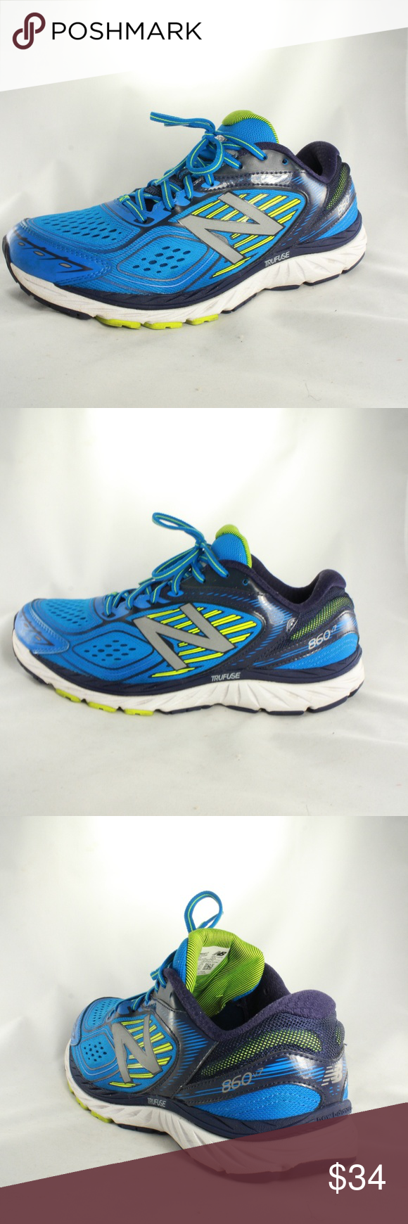 New Balance 860v7 Mens Stability Running Shoes Great stability focused high  quality running shoes. Lots 2670311d012