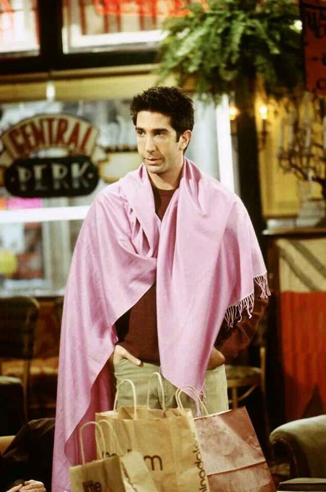 """""""Ross what's a pashmina?"""" """"It's a rug"""""""
