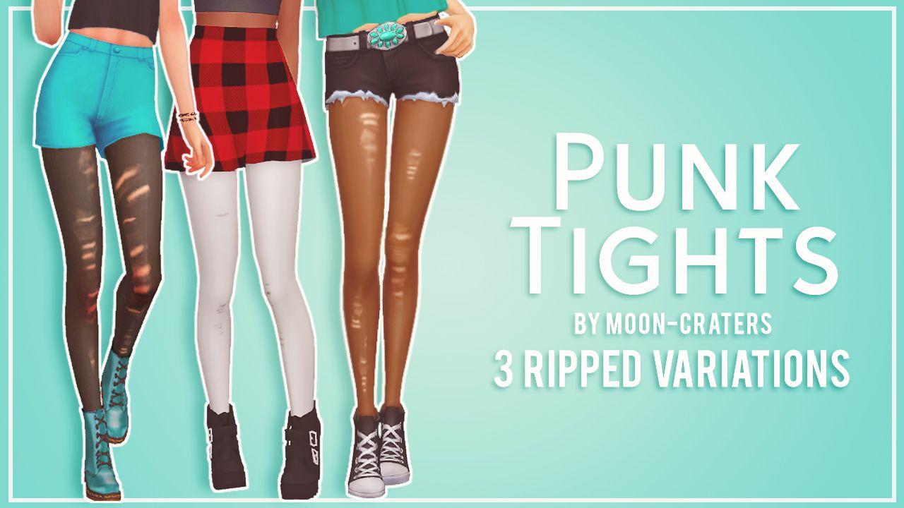 Ripped Punk Tights