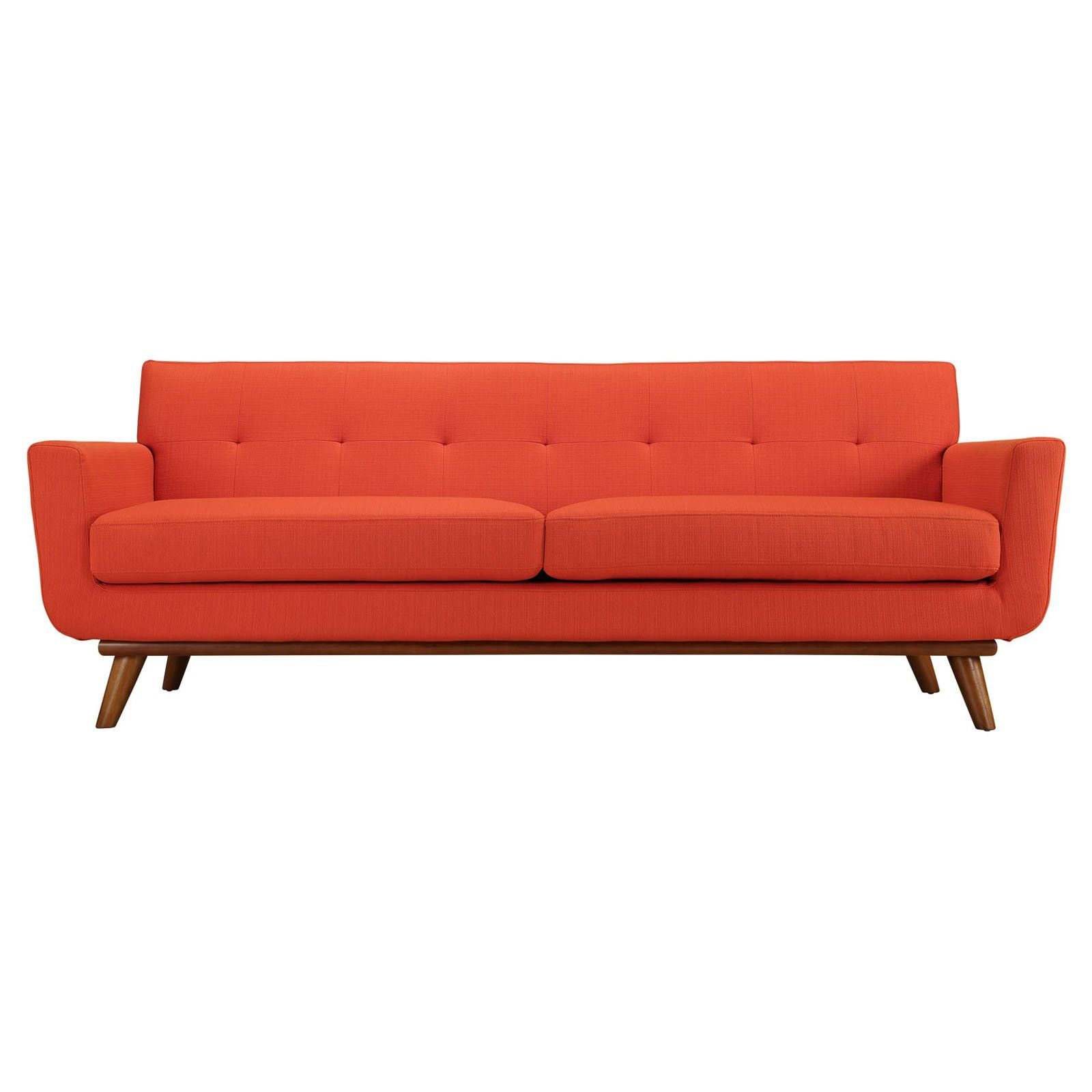 37c1d71378139b26b31ce85c0d60ed66 - Better Homes & Gardens Porter Fabric Tufted Futon Rust Orange