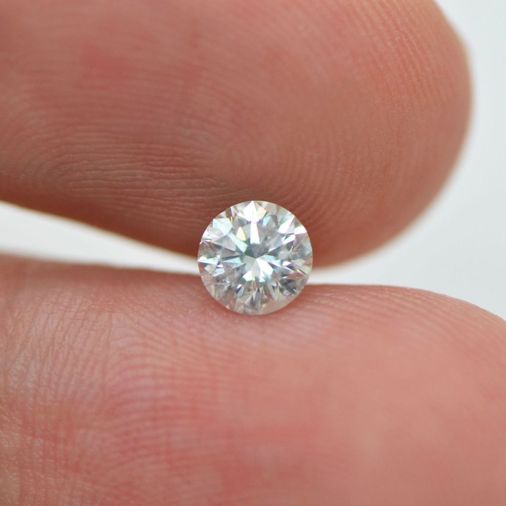 0.50 Carat Diamond Round Cut G SI2 Enhanced Certified Natural Loose ...