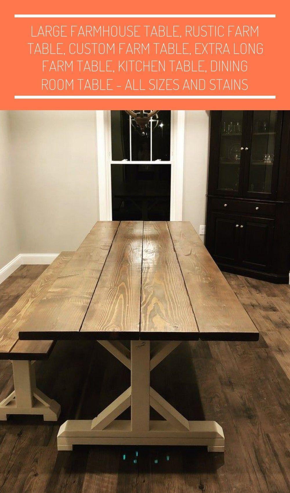Large Farm Table Rustic Farm Table Custom Farm Table Ets Custom Ets Farm Large Rustic Table In 2020 Bauerntisch Rustikal Tisch