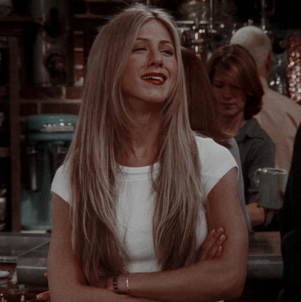 #rachel green long hair on Tumblr