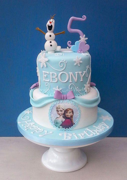 Fiesta de Cumpleaos Frozen 101 Ideas Originales Cake