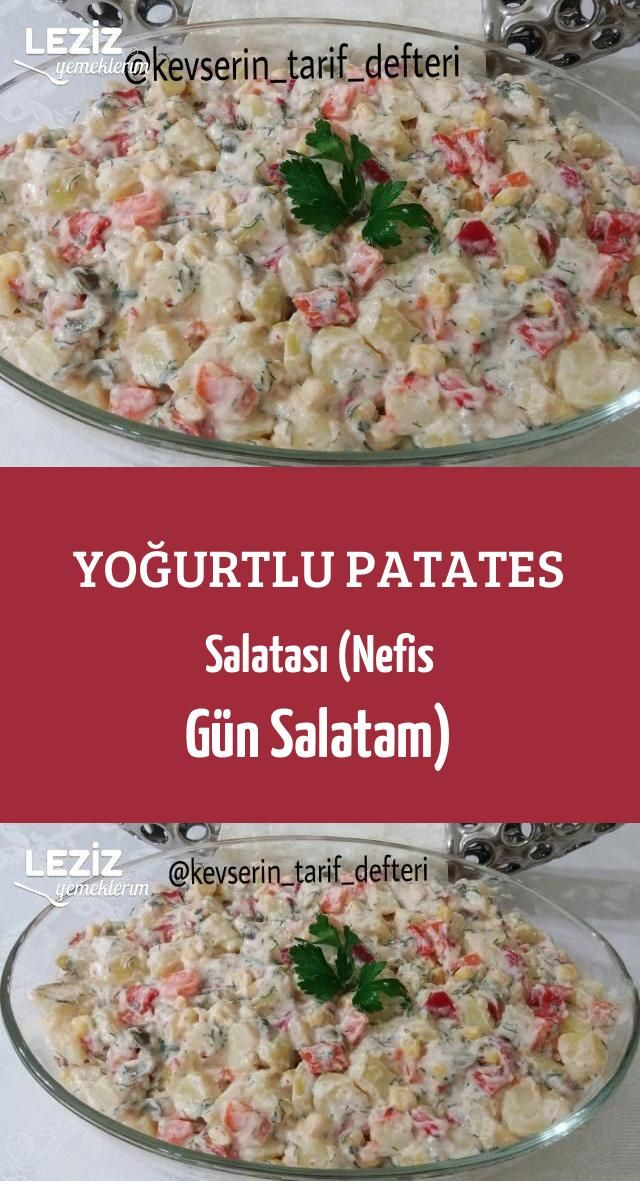 Yoğurtlu Patates Salatası Nefis Gün Salatam