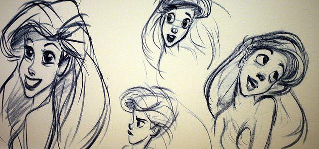Sketch of Ariel