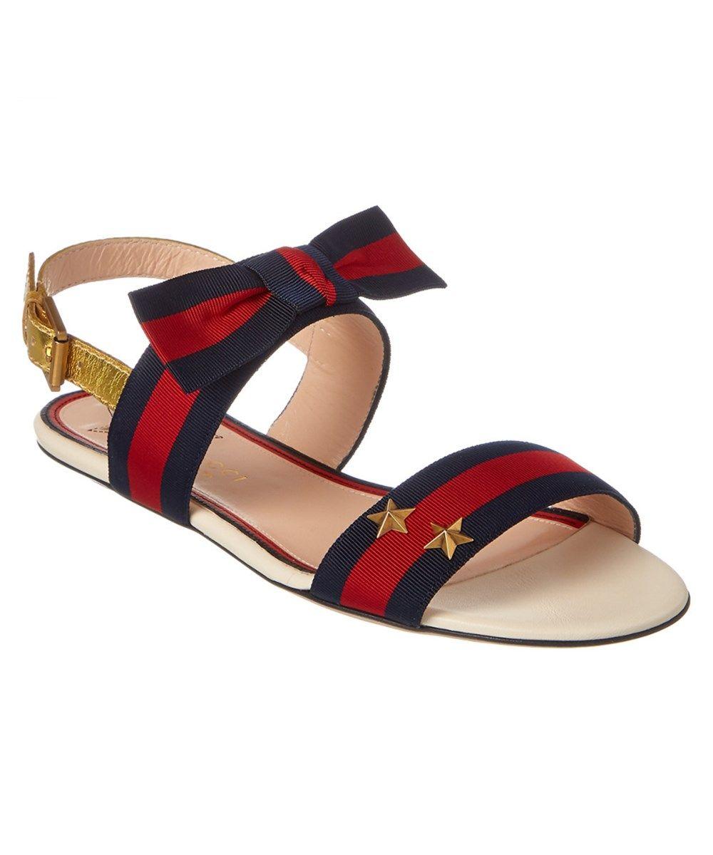 766ed835b GUCCI Gucci Grosgrain Web Sandal .  gucci  shoes  sandals