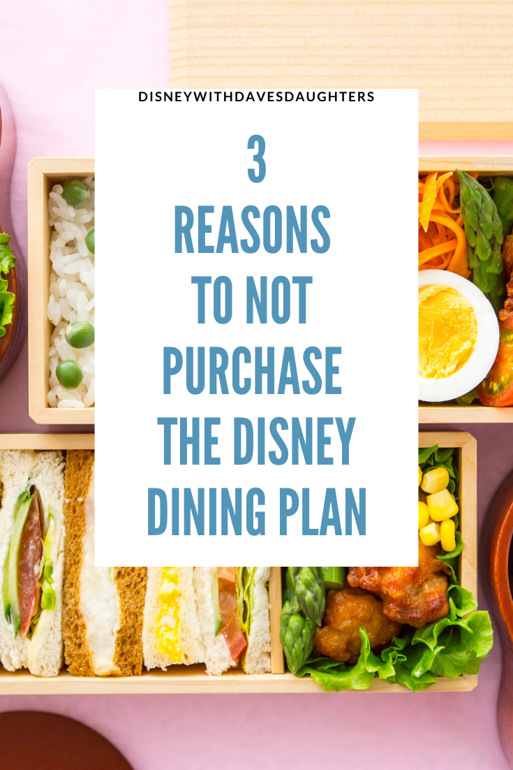 Disney Dining Plan Disney With Dave S Daughters In 2020 Disney Dining Plan Disney Dining Disney Vacation Packages