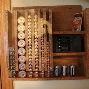 Battery Storage Dispenser Unit Workshop Pinterest