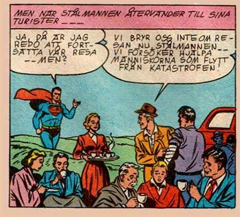 Superman from Stålmannen no. 3/1981.
