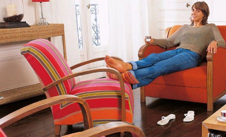 tapisser un ancien fauteuil en 2019 d coration. Black Bedroom Furniture Sets. Home Design Ideas