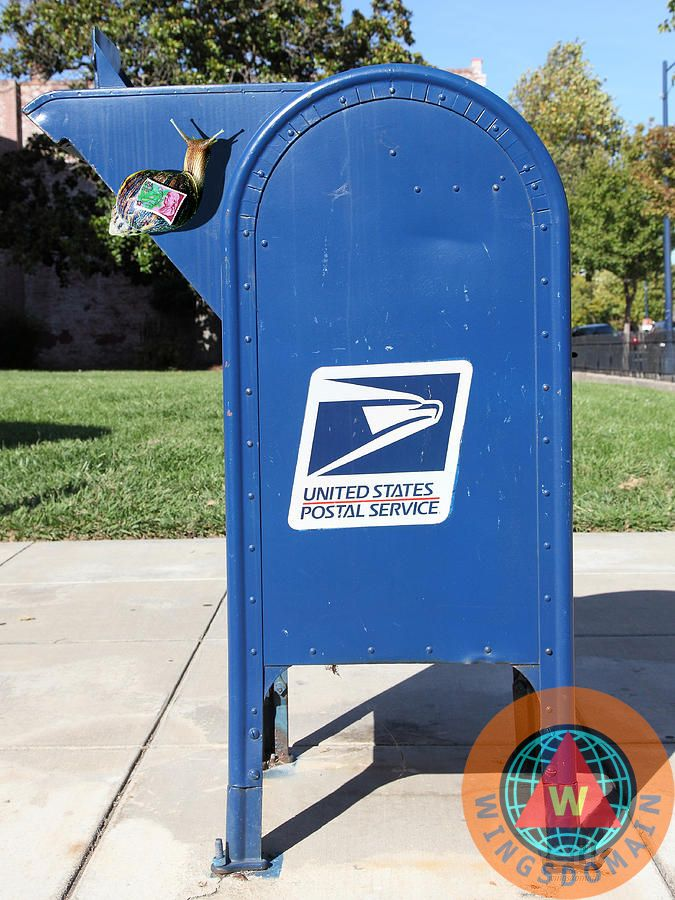 Snail Mail by Old mailbox, Cool mailboxes, Mailbox