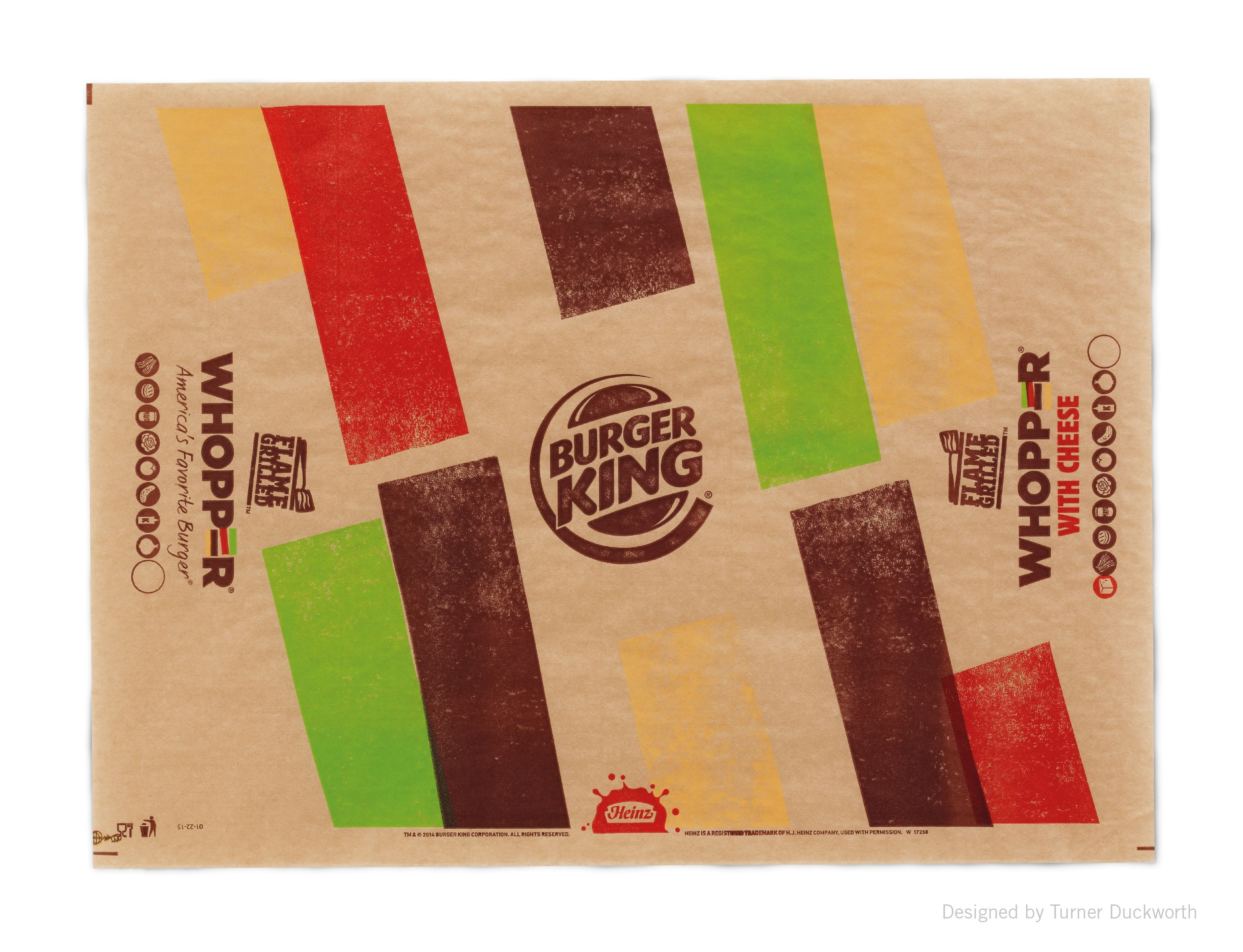 hight resolution of burger king packaging and visual identity designed by turner duckworth