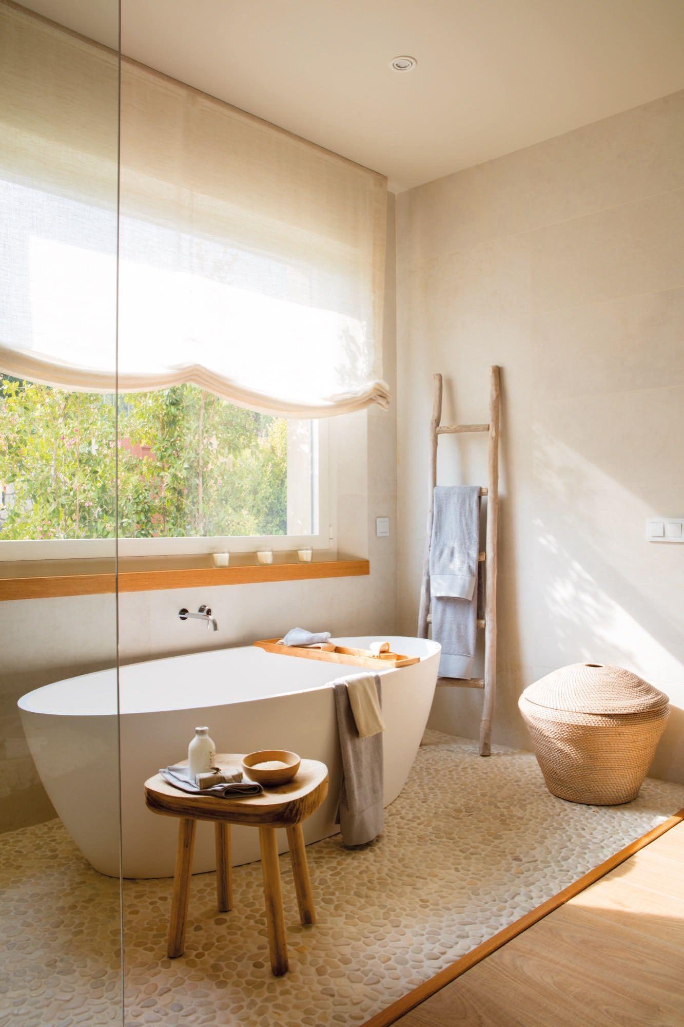 El Relax Total Banera Exenta Dormitorio Con Bano Bano Con Banera
