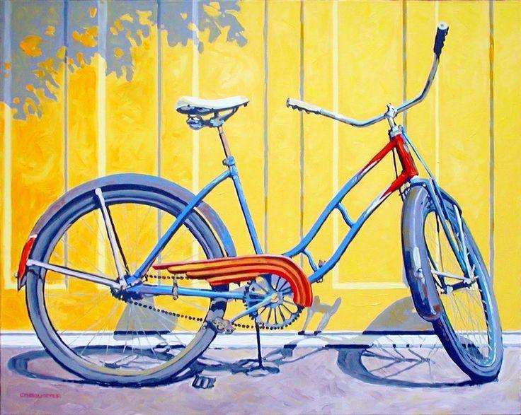Рисунки с велосипедом