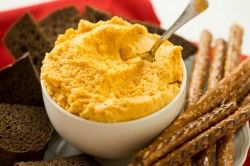Oktoberfest German Beer Cheese Spread | Brown Eyed Baker
