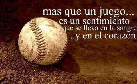 Frase Beisbolera Regalos Beisbol Frases Jugar Beisbol