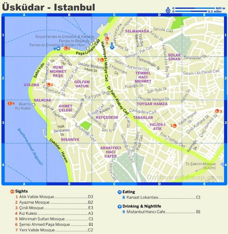 skdar tourist map Maps Pinterest Tourist map and City