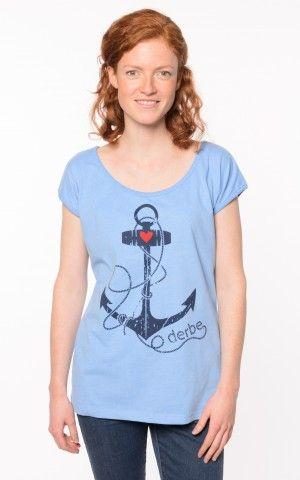 bc907a6b653cfe Derbe Deerns Anker Shirt Regatta Melange | Ankern | Shirts, T-shirt ...