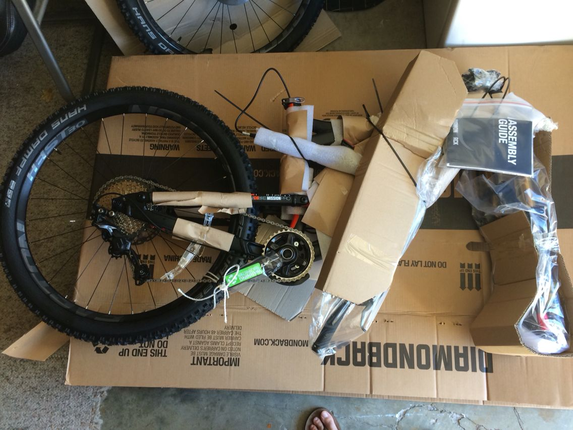 2016 diamondback mission pro  fresh out of the box  | 2016
