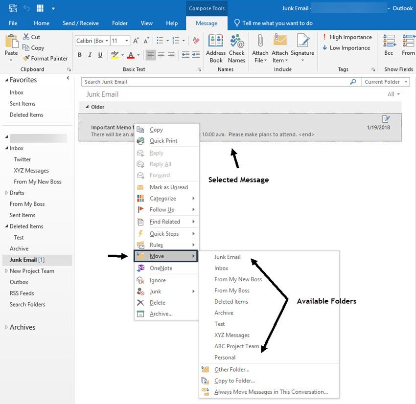 How To Retrieve Your Deleted Or Archived Ms Outlook Emails Outlook Email Outlook Book Names