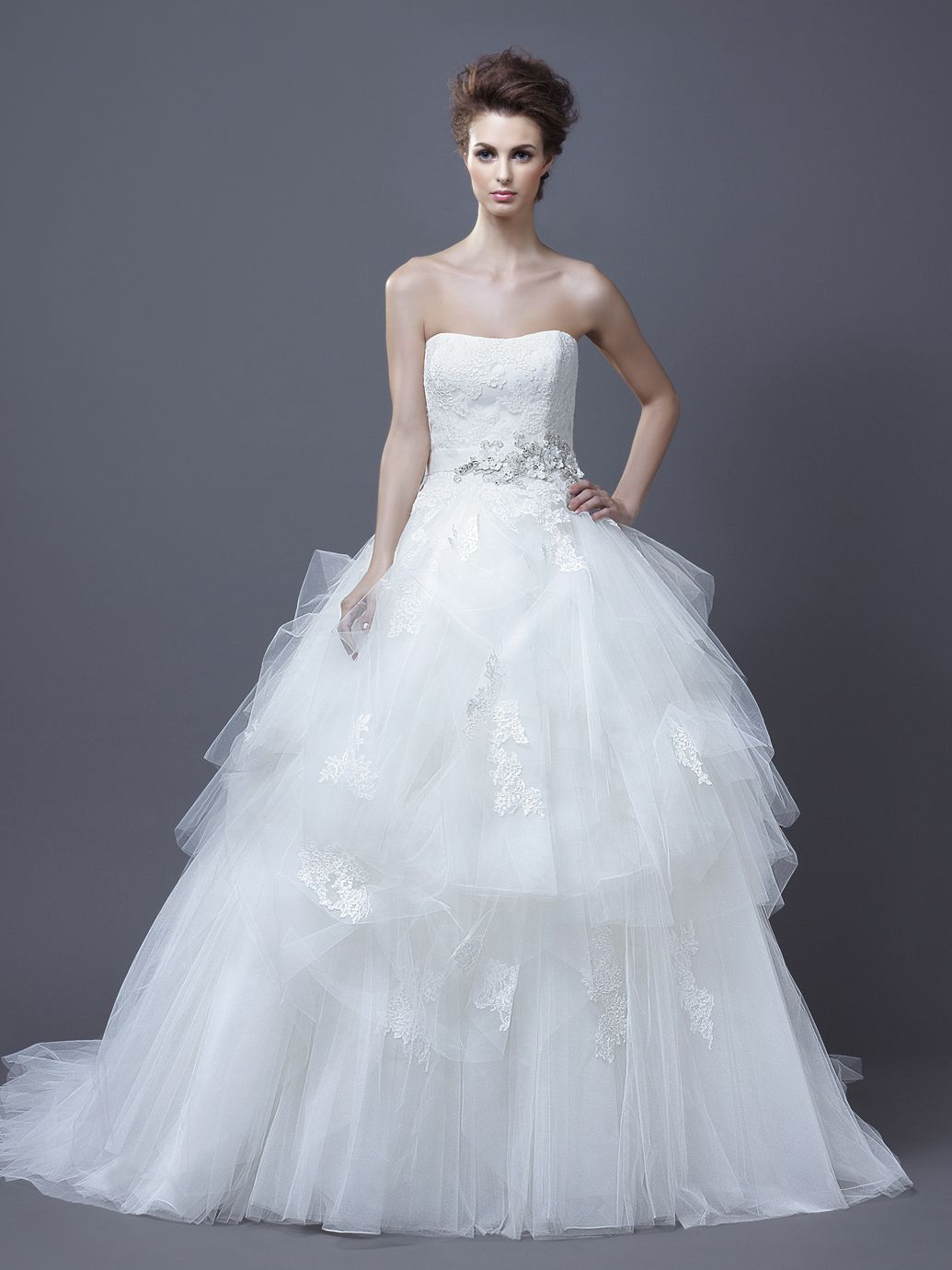 HADIL / Enzoani Collection / Enzoani / Available Colours : Ivory ...