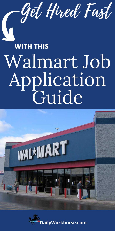Get This Crazy Good Effective Walmart Application Guide Job Application Job Application