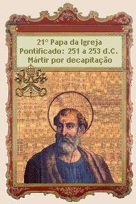 O pontificado de São Cornélio teve início somente no ano de 251. Um ano e quatro meses antes, o Papa São Fabiano, seu predecessor, havia sido martirizado ...